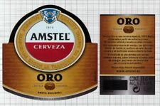 SPAIN Amstel Brouwerij ORO 33CL beer label C2315 040