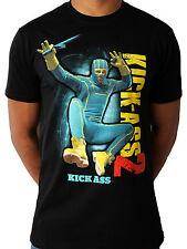 KICK ASS 2 BLACK UNISEX T-SHIRT LARGE