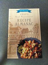 Kraft Real Mayonnaise Recipe Almanac 65th Anniversary Commemorative Edition 1992