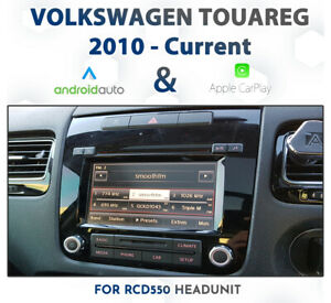 Volkswagen Touareg 7P RCD550 - CarPlay & Android Auto Add on