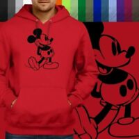 Retro Classic Mickey Mouse Walt Disney Pullover Hoodie Jacket Hooded Sweater
