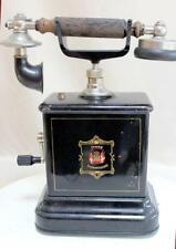 ANTIQUE BAKELITE  METAL TELEPHONE JYDSK 1910