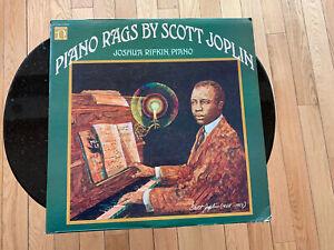 Joshua Rifkin SCOTT JOPLIN PIANO RAGS Nonesuch H-71248 1970