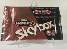 1997-98 NBA Hoops Skybox Autographics Factory Sealed Hobby Pack! Kobe? Jordan?