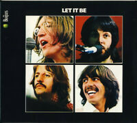CD The Beatles ‎Let It Be Apple Records ITALY 2012