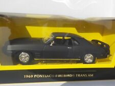 Pontiac Firebird - Matt Black, Model, Car, 1/43, Scale, American Muscle.