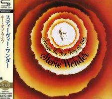 """Stevie Wonder SEALED BRAND NEW 2SHM-CD """"Songs In The Key Of Life"""" Japan OBI"""