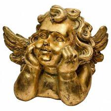 GOLD CHERUB ORNAMENT  - DECOR
