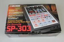 Brand New Boss SP-303 Sampler