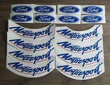 Ford Motorsport Compomotive Wheel Vinyl Decal Set. RS, Cosworth, Focus, Bola