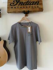 Genuine Indian Motorcycle Tshirt (grey) Medium