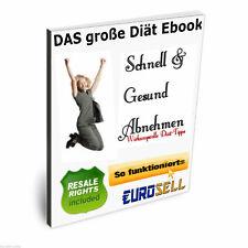 Ebook Diät Download schnell gesund abnehmen Ernährung Ratgeber PDF MRR Rezepte