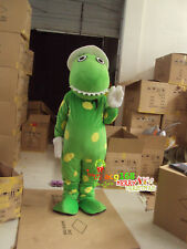 Green Dragon Mascot Costume Suits Outfits Cosplay Party Game Dress Adults