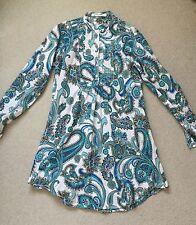 Zara Cotton Tops & Shirts for Women's Paisley