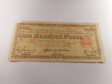 Philippines Emergency Currency Negros One Hundred Pesos 1943 Low Serial - # 6953