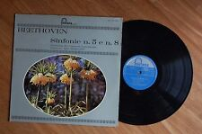 BEETHOVEN - SINFONIE N. 5 e N. 8 - ORCHESTRA LAMOUREUX - IGOR MARKEVITCH - G/VG
