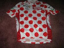 TOUR DE FRANCE 2005 POLKA DOT KOM NIKE ITALIAN CYCLING JERSEY [Small]