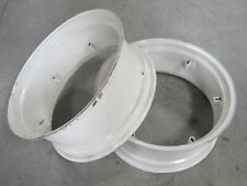 2 Wheel Rims 12x28 For Ford 2600 2610 2810 2910 2n 3000 3055 3100 3120 3300 3310