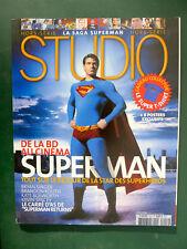 STUDIO hors série SUPERMAN + 6 posters !!!