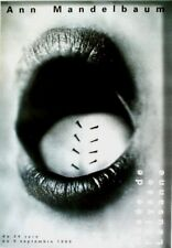 Original vintage poster ANN MANDELBAUM SWISS PHOTO EXPO 1999