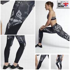Nike Pro Women's Training Printed Training Tights Black/White - Dri-FIT XS