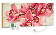 "Marmony M800 Plus 800 Watt Infrarotheizung ""Pink Orchidee"" inkl. Funkthermostat"