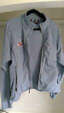 Ibex Jacket Women's L Climawool Powder Blue Softshell Us Ski Team logo