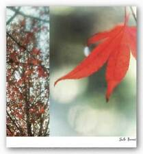 Autumn Leaves I Jennifer Broussard Art Print 18x18