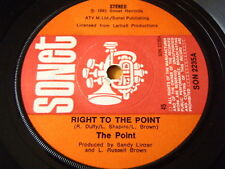"THE POINT - RIGHT TO THE POINT  7"" VINYL"