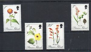 PITCAIRN ISLAND STAMPS 1970 FLOWERS MINT NEVER HINGED