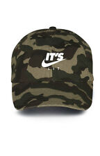 It's Lit Swoosh Custom Unstructured Dad Hat Baseball Caps Headwear New-Camo