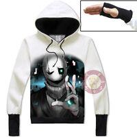 Anime Undertale Sans/Papyrus Unisex Jacket Cosplay Hoodie Coat#31-BH69