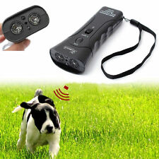 Anti-Bark Ultrasonic Aggressive Dog Pet Repeller Barke Stopper Deterrent_GG