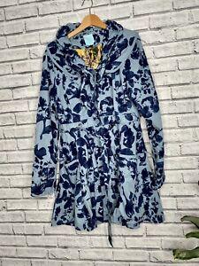 Joe Browns Fabulous Blue Floral Jacket Coat UK 16