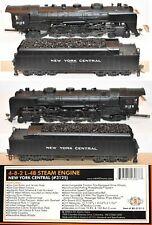 New York Central NYC 3125 L-4B  4-8-2 Sound Mohawk MTH  HO MR5.16