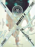 MONSTA X 1st Album [BEAUTIFUL] Brilliant Ver. CD+Post Photo+Booklet+Photocard