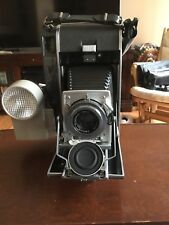 Vintage Polaroid  Land Camera Model 110A W/ Rodenstock Ysarex 1:4,7 f=127mm Lens