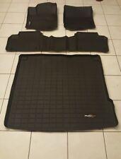 Mercedes-benz weathertech floorliner mats black w cargo mat