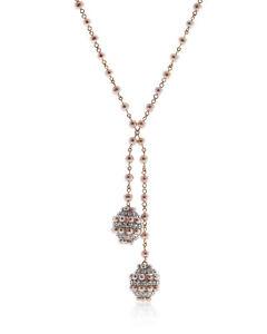 Mimi Milano Garbo 18k Rose Gold And Pearl Necklace C244C3Z