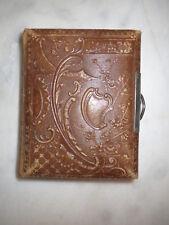 Leeres kleines Album für 26 CDV - Hartpappe-Photos - um 1890/1900