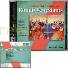 """RONDO' VENEZIANO """"I GRANDI SUCCESSI"""" CD 1997 FUORI CATALOGO"""
