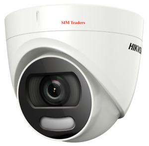New Hikvision ColorVu camera DS-2CE72HFT-F28 5MP Turret Color View