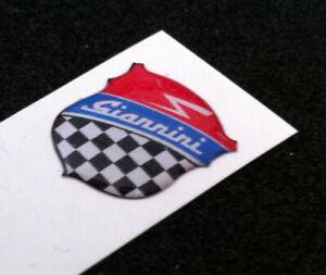 1 Adhesive Resin Sticker 3D Fiat 50 MM Giannini