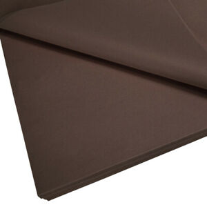 10 x LARGE TISSUE PAPER SHEETS 750MM X 500MM ACID FREE 14GSM LOTS OF COLOURS