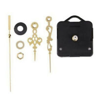 Quartz Clock Movement Mechanism Gold Color Hands DIY Repair Replacement Parts