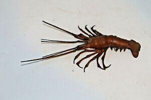 Japanese Articulate Lobster Okimono Meiji Period Signed  Myochin Hiroyoshi