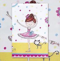 Rachel Ellen Design Birthday Ballerina Plastic Table Cover 120cm x 180cm