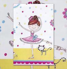 Ballerina Ballet Dancer Party Supplies Plastic Table Cover 120cm x 180cm