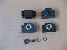 Anti-backlashed DFU2005-1000//1500//1500mm Dual Ballscrew/&BF15//BK15/&8*12mmCoupling