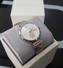 Michael Kors Portia Two-tone Silver/ Rosegold-tone Ladies Watch MK3709